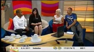 Mark Dzirasa & Jaroslava Timkova – Dobré ráno ČT1 (video)