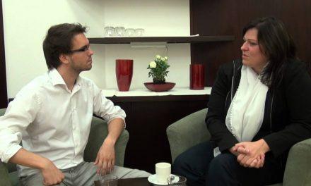 Markéta Teutrine v talkshow Tomáše Lukavce, 23.01.2014 (video)