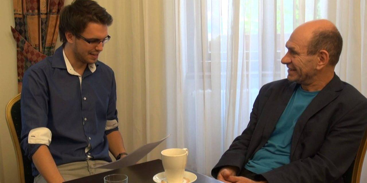 Ondřej Štefl v talkshow Tomáše Lukavce, 28.2.2014 (video)