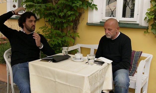 Petr Mára, Jaroslav Homolka: bistro digital #13 (video)