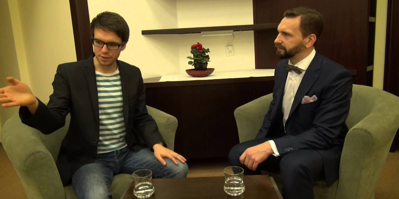 Daniel Šmíd v talkshow Tomáše Lukavce, 20.3.2014 (video)