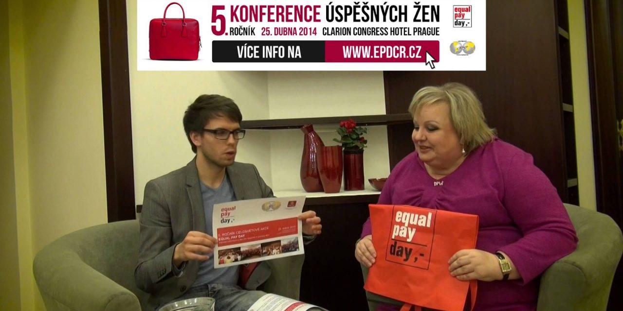 Lenka Šťastná v talkshow Tomáše Lukavce, 3.4.2014 (video)