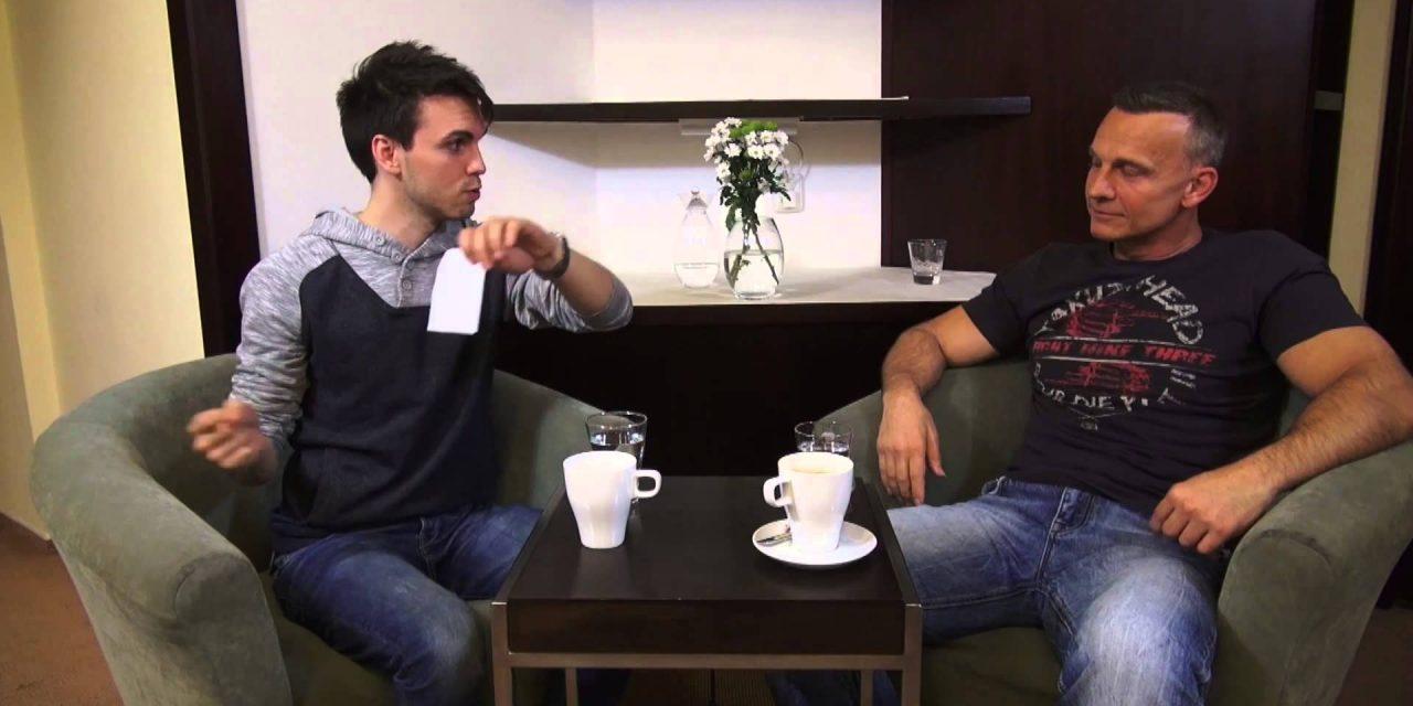 Martin Maxa v talkshow Tomáše Lukavce, 15.5.2014 (video)