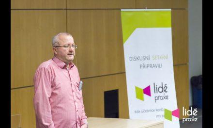Diskusní setkání s Radimem Jančurou   LIDÉ Z PRAXE (video)