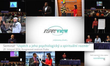 """Reportáž ze semináře """"Úspěch a jeho psychologický a spirituální rozměr"""""""
