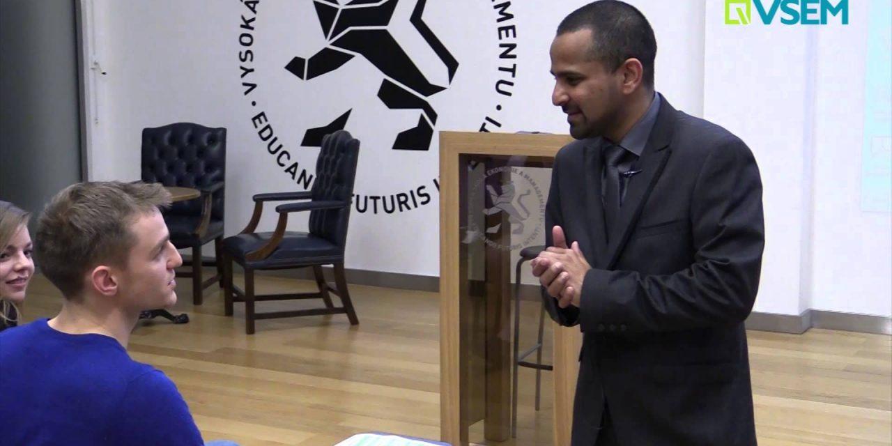 Hosté VŠEM – Zamaan Mustapha (video)