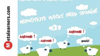 Nepočítejte ovečky před spaním! Awesome x 3. (video)