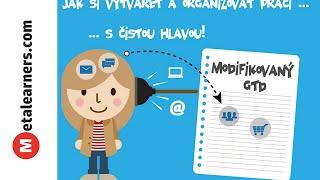 Jak si vytvářet a organizovat práci s čistou hlavou (GTD) (video)