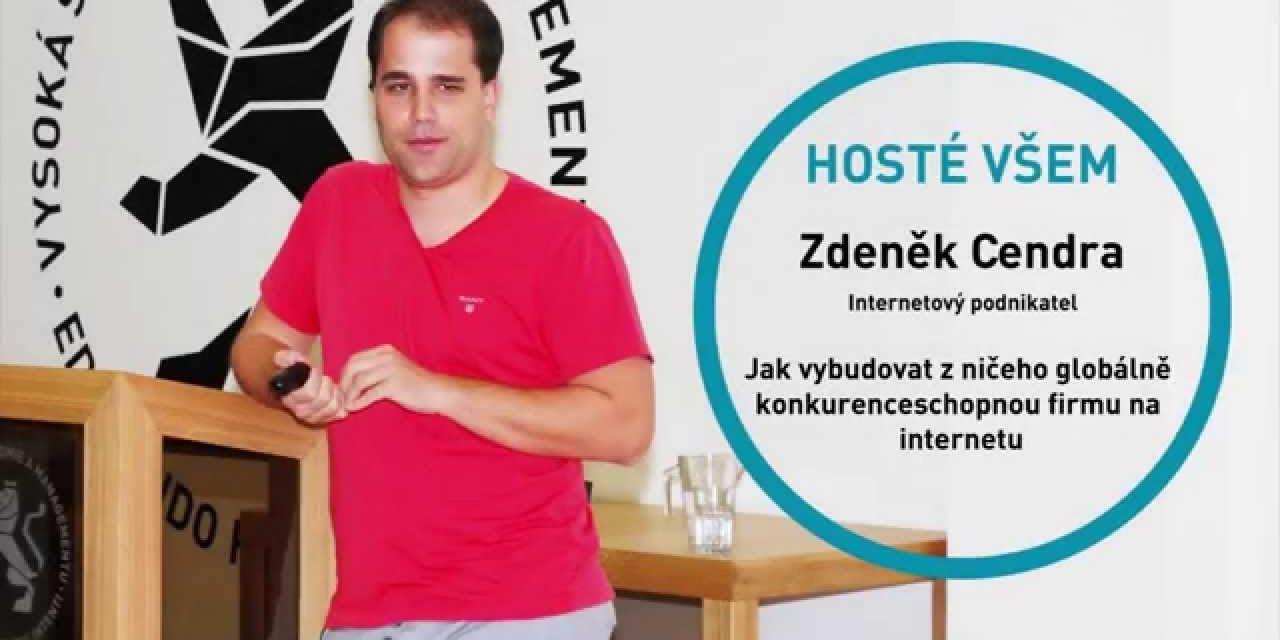 Hosté VŠEM – Zdeněk Cendra (video)
