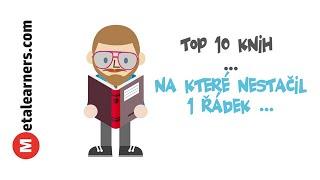Top 10 z 500+ knih na které nestačil 1 řádek (video)