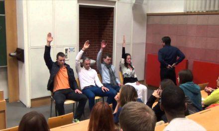 Hypnóza na VŠE (Cesta Úspěšných) (video)