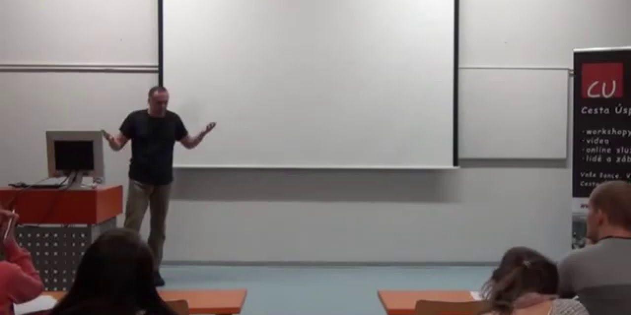 Tomáš Rektor – Jak pracovat více a nevyhořet (video)