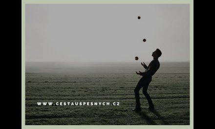Naučte se žonglovat. Trénujte zručnost (video)