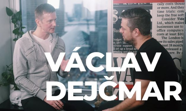 DEEP TALKS 20: Václav Dejčmar (video)