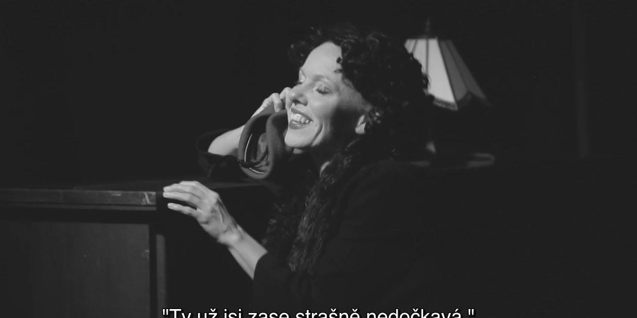 Edith Piaf v Divadle Kampa (video)