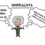 Jsi generalista nebo specialista? (video)